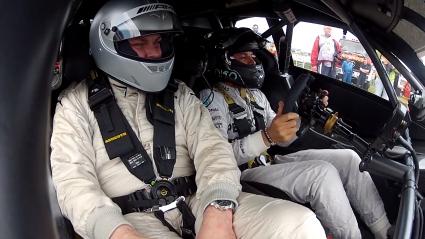 """Нико Розберг направи обиколка на """"Хокенхайм"""" с DTM Mercedes (Видео)"""