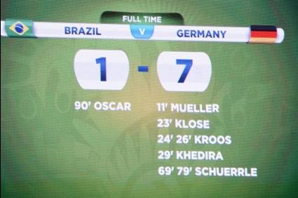 Бразилец още не е преодолял 1:7 от Германия