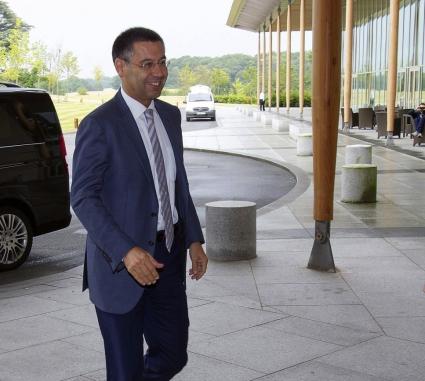 Бартомеу: Няма клауза за ухапване в договора на Суарес