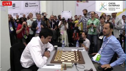 Равенство между България и Русия на шахматната олимпиада