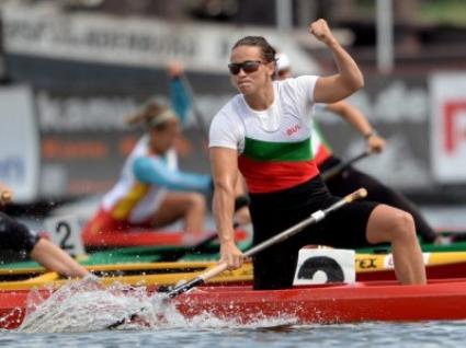 Станилия Стаменова се класира за финала на 200 м едноместно кану