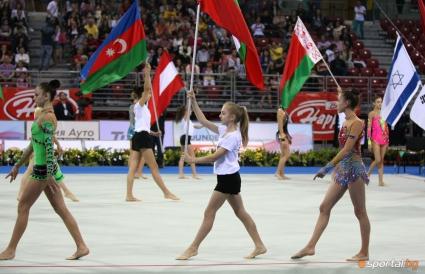 Министър Раданова откри официално СК по художествена гимнастика в София