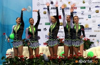Общо 3 сребърни медала за ансамбъла на България на Световната купа в София