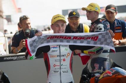 Ефрен Васкес с първа победа в кариерата си в клас Мото3