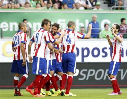 Атлетико се отпуши срещу Волфсбург (видео)