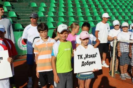 """Тенисистите на """"Изида"""" приключиха участието си на държавното първенство"""