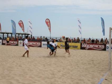 Българският национален тим по плажен футбол се класира на финала на Дивизия Б