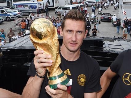 Германските футболисти благодариха на Клозе
