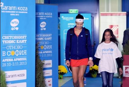 Ана Иванович се изкачва в класацията за София