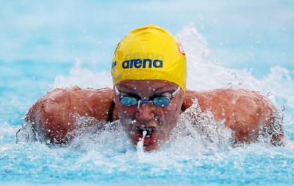 Шьострьом защити титлата си на 50 метра бътърфлай