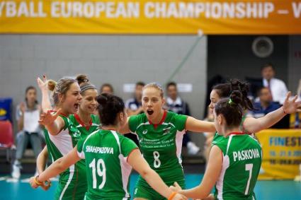 България загуби от Гърция на ЕП по волейбол за девойки