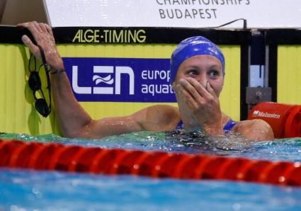 Джезмин Карлин стана европейска шампионка по плуване на 800 метра свободен стил