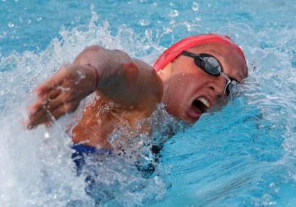 Нина Рангелова на полуфинал на 200 метра свободен стил