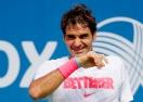 """Предизвикателството е прието: """"Ледена кофа"""" по шампионски с Роджър Федерер (видео)"""