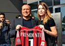 Силвио Берлускони при Милан