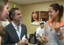 Във фризьорския салон на US Open