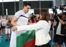 Раданова пожела успех на волейнационали на световното първенство в Полша (ВИДЕО + ГАЛЕРИЯ)