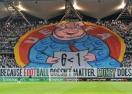 Феновете на Легия с уникално послание към УЕФА (видео)