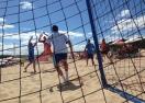 Шампионите с победен старт на Държавното по плажен хандбал