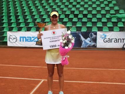Терзийска с обрат срещу Томова и титла от Държавното лично първенство