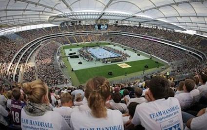 44 189 зрители на хандбал - световен рекорд!