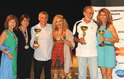 България с 3 титли от световното по тенис за журналисти