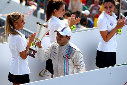 Маса щастлив да спечели първия подиум за Уилямс точно в Италия