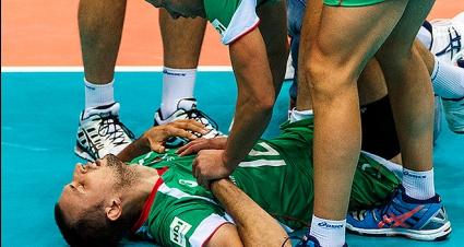 Контузия извади Виктор Йосифов още в първия гейм на мача с Русия