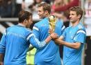 40 000 на тренировка на световния шампион Германия преди мача с Аржентина (видео + снимки)