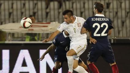 Сърбия не се даде на Франция в дебюта на Адвокаат (видео)