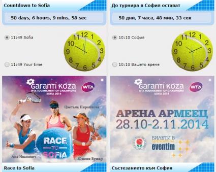 50 дни преди Турнира на шампионките Пиронкова се върна в топ 50
