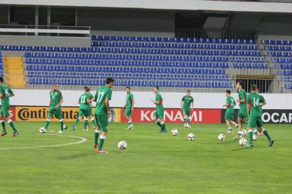 """""""Лъвовете"""" концентрирани на последната тренировка в Баку"""