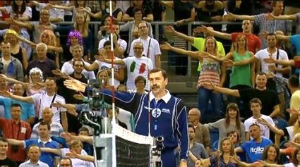 14 100 полски фенове станаха съдии на мача Италия - САЩ 1:3