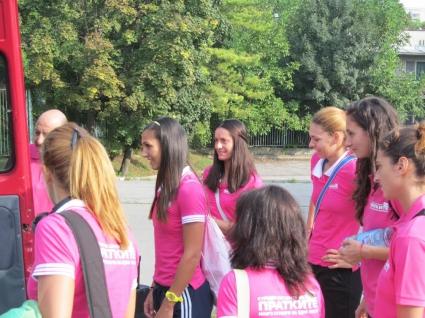 Женският шампион Дунав 8806 потегли за контролите в Румъния