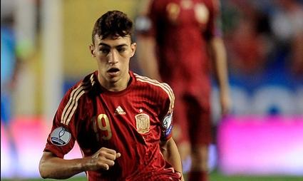 Талант от Барселона ще запази фланелката си от дебюта за Испания