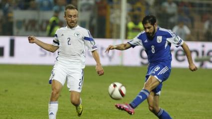 Кипър изненада Босна и Херцеговина, Пянич пропусна дузпа в края (видео)
