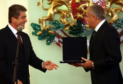 Георги Първанов стана почетен президент на Миньор