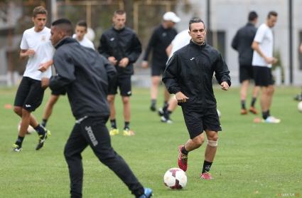 Национал на ЦАР тренира за първи път със Славия