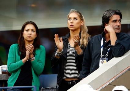 Курникова подкрепи Нишикори на US Open
