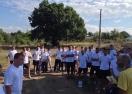Футболистите на ПФК Бургас се включиха тази сутрин в благотворителна акция