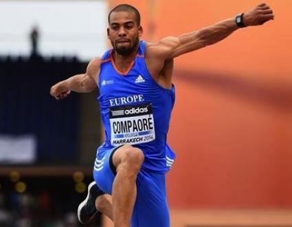 Компаоре №1 с рекорд в тройния скок на Континенталната купа