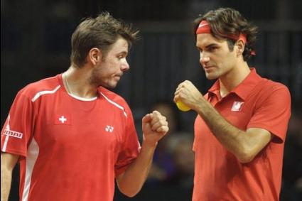 Федерер и Вавринка ще играят демонстративно в Цюрих