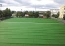 """На """"Герена"""" започна поставянето на новата модерна изкуствена тревна настилка (видео)"""