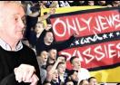 Легенда на Партизан шокиран от антисемитските лозунги