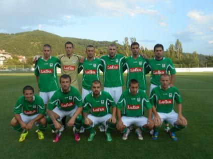 Ръководството, треньорите и футболистите на Пирин благодариха на феновете си