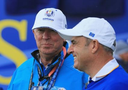 Сър Алекс с принос за победата на европейските голфъри