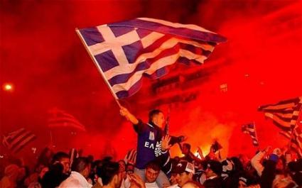 Смъртта на фен отложи всички мачове в Гърция