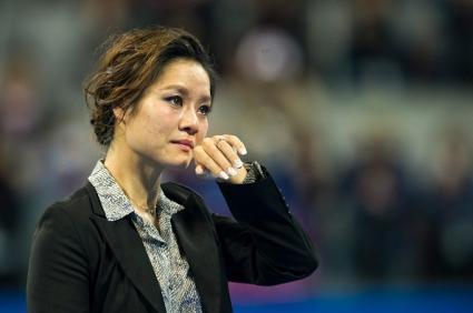 На Ли се сбогува с китайската публика със сълзи на очи (видео + галерия)