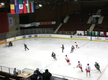 Благотворителен турнир по хокей на лед