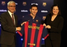 Барса и Gilette сключиха споразумение (видео)